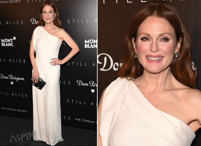 Julianne Moore in Alexander McQueen | 'Still Alice' NYC Screening
