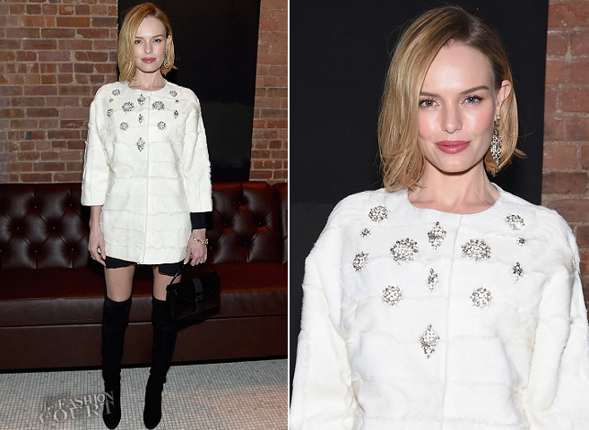 Kate Bosworth in J. Mendel | 'Still Alice' NYC Screening After Party