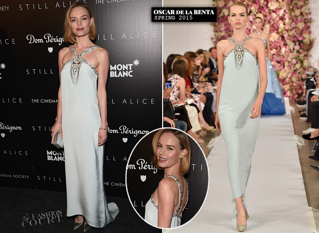 Kate Bosworth in Oscar de la Renta | 'Still Alice' NYC Screening