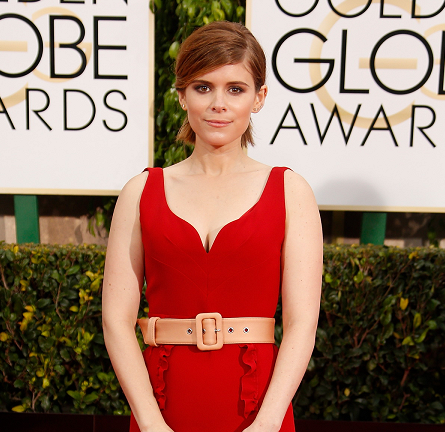 Kate Mara in Miu Miu | 2015 Golden Globes