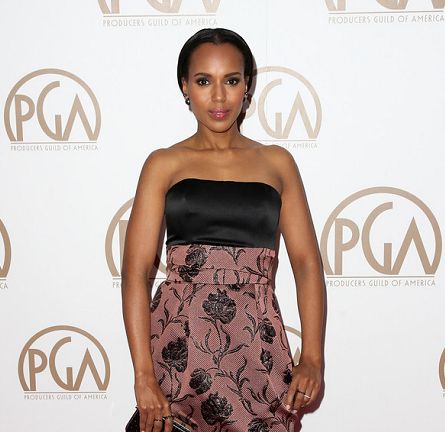 Kerry Washington in Prabal Gurung | 2015 PGA Awards