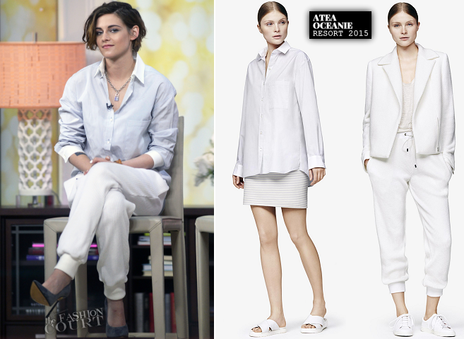 Kristen Stewart in Atea Oceanie | 'The Today Show'