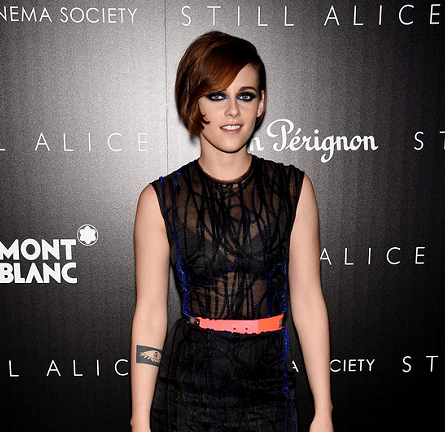 Kristen Stewart in Roksanda | 'Still Alice' NYC Screening