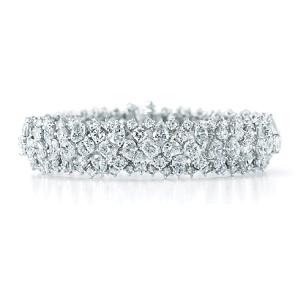 KWIAT Concerto Platinum Diamond Bracelet
