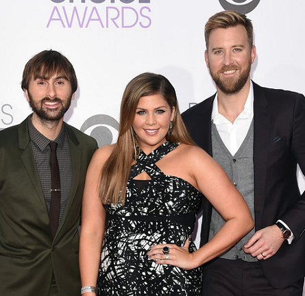 Lady Antebellum in Yigal Azrouël, Calvin Klein and Dolce & Gabbana | 2015 People's Choice Awards