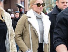 Margot Robbie in IRO & J Brand | 2015 Sundance Film Festival