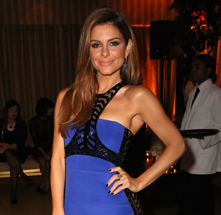 Maria Menounos in Emilio Pucci | The Weinstein Company & Netflix's SAG After Party 2015