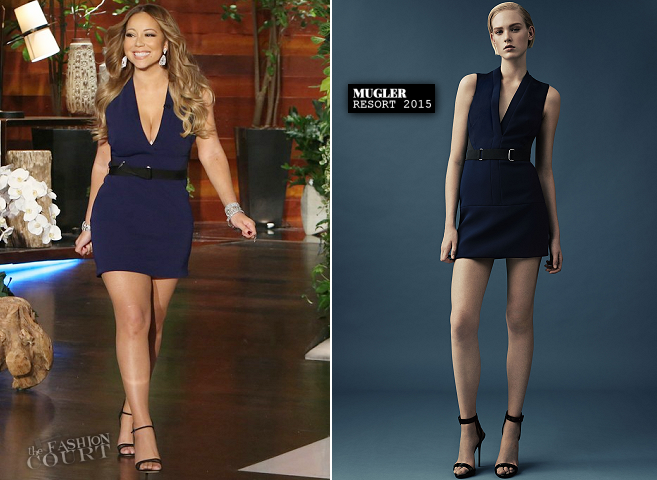 Mariah Carey in Mugler | 'The Ellen DeGeneres Show'