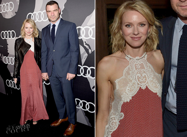 Naomi Watts in Stella McCartney | 2015 Audi Golden Globe Week Celebration