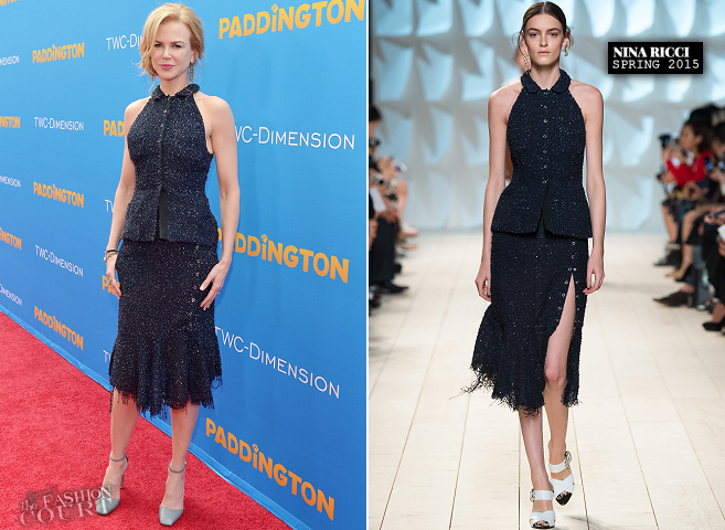 Nicole Kidman in Nina Ricci | 'Paddington' Hollywood Premiere