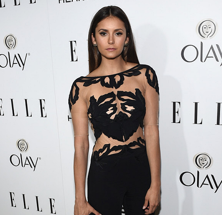Nina Dobrev in Zuhair Murad | ELLE's Women in Television Celebration 2015