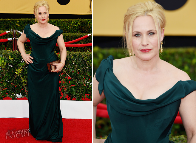 Patricia Arquette in Vivienne Westwood | 2015 SAG Awards
