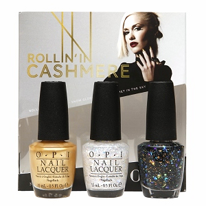 Review: OPI x Gwen Stefani Holiday 2014 Collection - Rollin' In Cashmere Trio