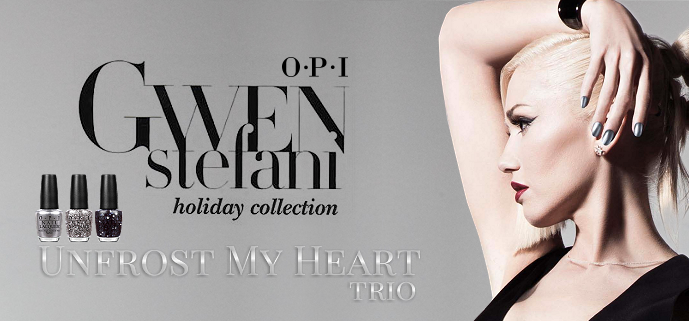 Review: OPI x Gwen Stefani Holiday 2014 Collection - Unfrost My Heart Trio