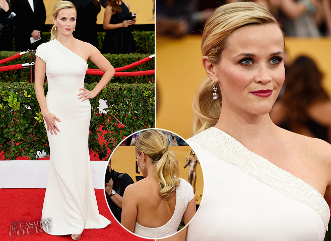 Reese Witherspoon in Giorgio Armani | 2015 SAG Awards