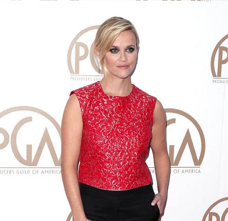 Reese Witherspoon in Giambattista Valli & Mario BH | 2015 PGA Awards