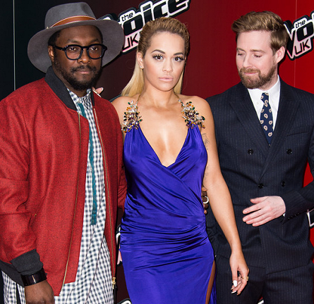 "Rita Ora in DSquared2 | ""The Voice UK"" Series 4 Launch"