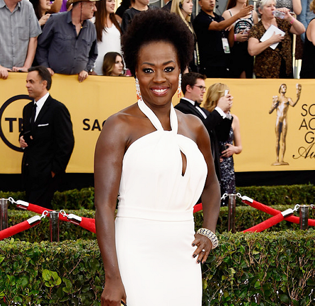 Viola Davis in Max Mara | 2015 SAG Awards