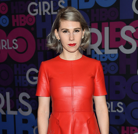 Zosia Mamet in Alexander McQueen | 'Girls' Season 4 NYC Premiere