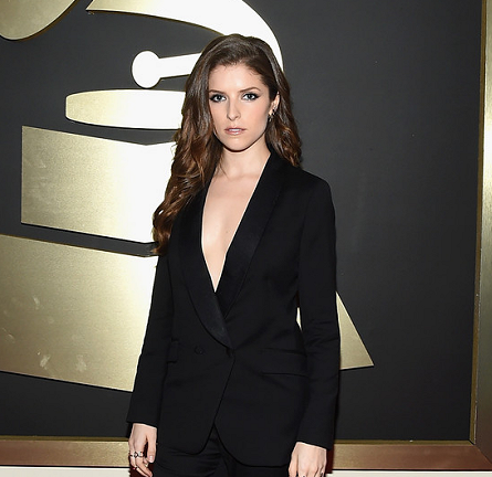Anna Kendrick in Band of Outsiders | 2015 GRAMMYs