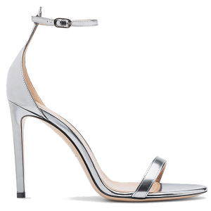 Bally Metallic 'Eren' Ankle Strap Sandals