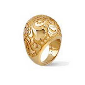 Carrera y Carrera Gold Dome Ring