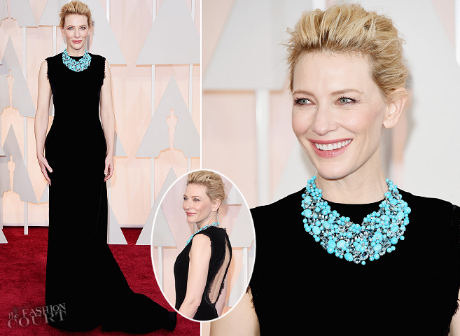 Cate Blanchett in Maison Margiela Couture | 2015 Oscars