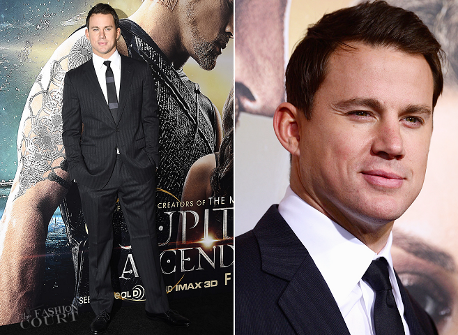 Channing Tatum in Gucci | 'Jupiter Ascending' Hollywood Premiere