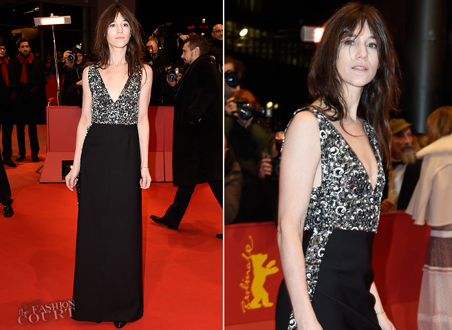 Charlotte Gainsbourg in Louis Vuitton | 'Every Thing Will Be Fine' Premiere - 2015 Berlinale International Film Festival