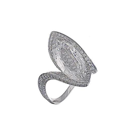 Chopard High Jewelry 18k White Gold Diamond Ring