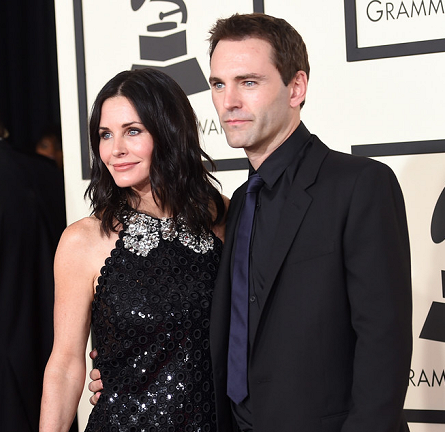 Courteney Cox in Marc Jacobs | 2015 GRAMMYs