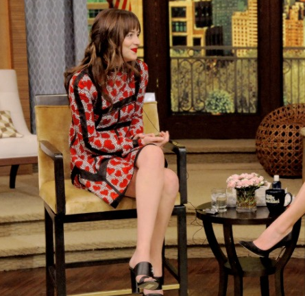 Dakota Johnson in Valentino | 'LIVE with Kelly and Michael'