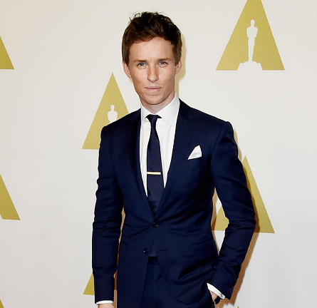 Eddie Redmayne in RL Ralph Lauren | Oscar Nominees Luncheon 2015