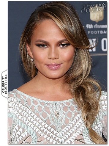 Get The Look: Chrissy Teigen's 2015 NFL Honors Side-Braid!