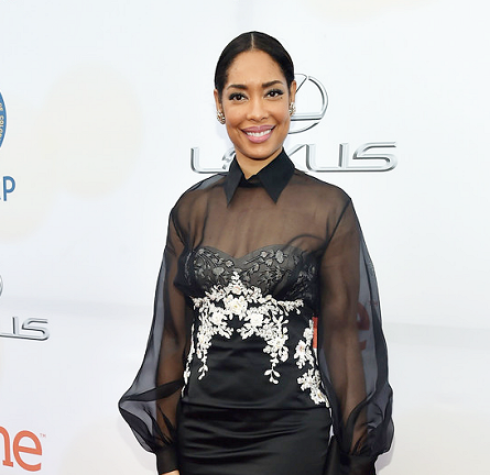 Gina Torres in Marchesa | 2015 NAACP Image Awards