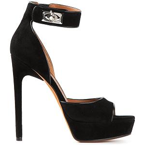 Givenchy Platform Suede 'Clara' Sandals