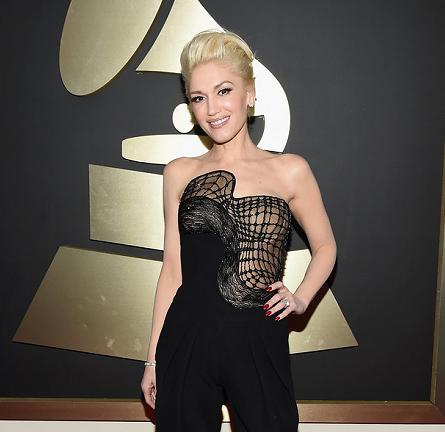 Gwen Stefani in Atelier Versace | 2015 GRAMMYs