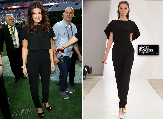 Idina Menzel in Angel Sanchez | NFL Super Bowl XLIX