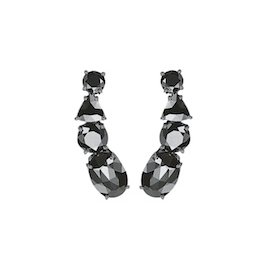 Jack Vartanian Black Diamond Earring Climbers