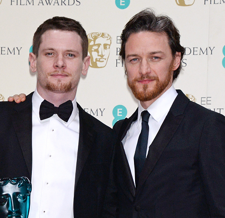 James McAvoy in Prada | 2015 BAFTAs