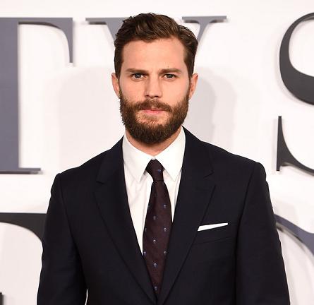"Jamie Dornan in Alexander McQueen | ""Fifty Shades of Grey"" London Premiere"