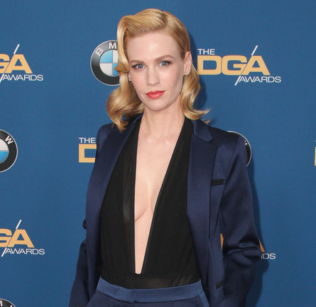 January Jones in Sandro | 2015 DGA Awards