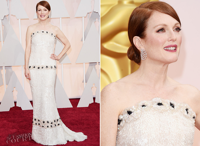 Julianne Moore in Chanel Couture | 2015 Oscars