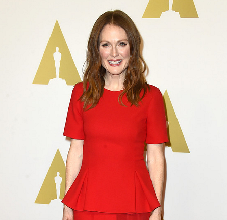 Julianne Moore in Prabal Gurung | Oscar Nominees Luncheon 2015