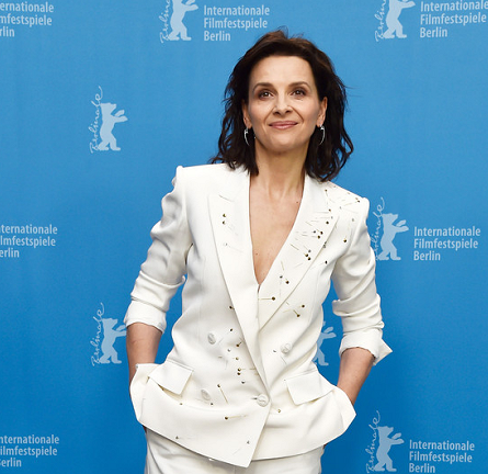 "Juliette Binoche in Schiaparelli Couture | ""Nobody Wants the Night"" Premiere - 2015 Berlinale International Film Festival Photocall"