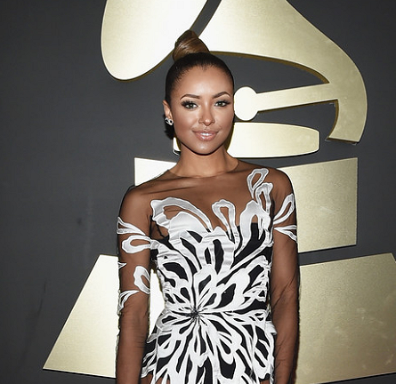 Kat Graham in Yanina Couture | 2015 GRAMMYs