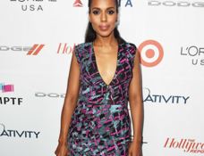 Kerry Washington in J. Mendel | Oscars 'Night Before' Party 2015