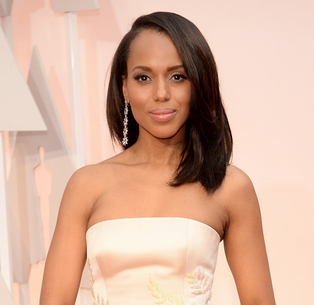 Kerry Washington in Miu Miu | 2015 Oscars