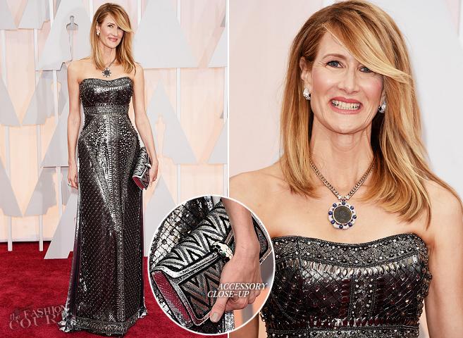 Laura Dern in Alberta Ferretti | 2015 Oscars