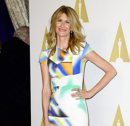 Laura Dern in Roland Mouret | Oscar Nominees Luncheon 2015